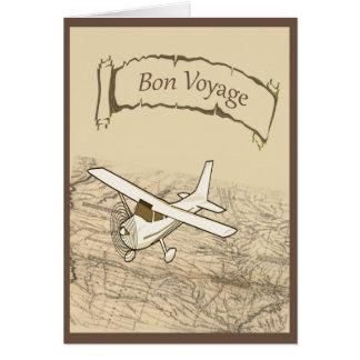 餞別の飛行機 カード