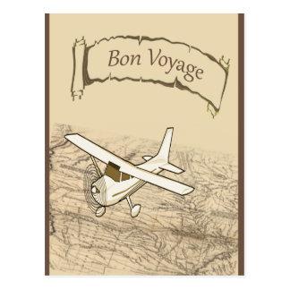 餞別の飛行機 ポストカード