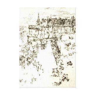 館アンボアーズ1890年 キャンバスプリント