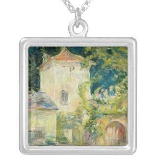 館du Mesnil、Juziersの鳩小屋 シルバープレートネックレス