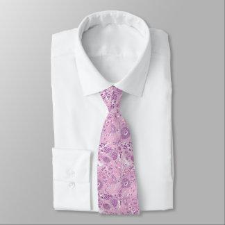 首のタイ-乳癌の細胞 ネクタイ