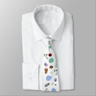 首のタイ-尿の微粒子 オリジナルネクタイ