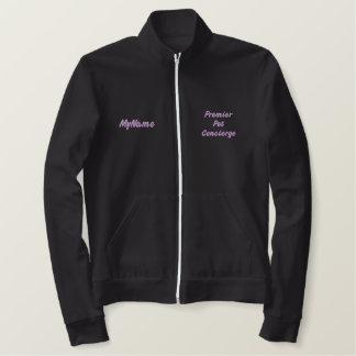 首位Pet Concierge Purple Custom 刺繍入りジャケット
