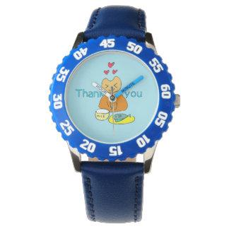 香るやつらウォッチw1-8ブルー 腕時計