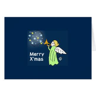 香るやつらクリスマスカード2-6・7 カード