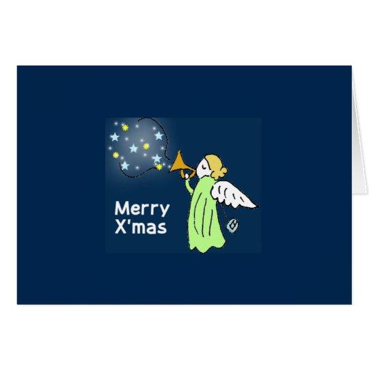 香るやつらクリスマスカード2-6・7 グリーティングカード
