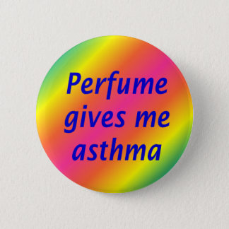 香水は私に喘息を与えます 5.7CM 丸型バッジ