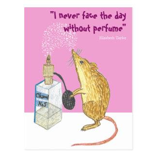 香水 -- よい1日必要! ポストカード