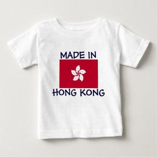 香港で作られる ベビーTシャツ