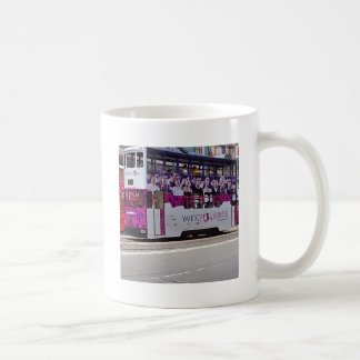 香港のクラシックな交通機関 コーヒーマグカップ
