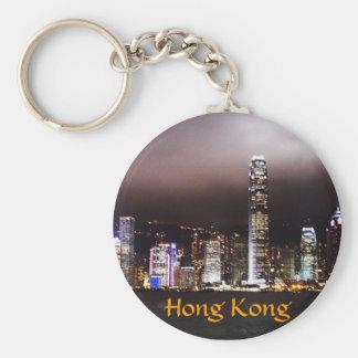 香港のスカイラインのkeychain キーホルダー