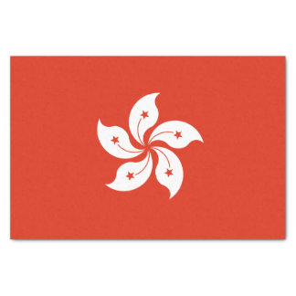 香港のティッシュペーパーの旗 薄葉紙
