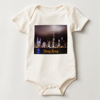 香港のベビーのTシャツ ベビーボディスーツ