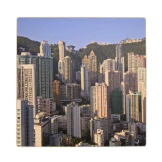 香港の中国の都市景観 ウッドコースター