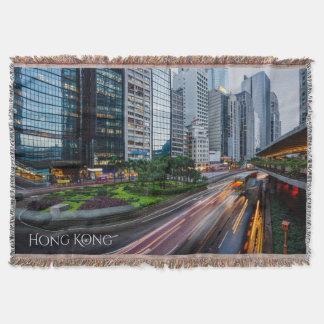 香港の交通カスタムな投球毛布 スローブランケット