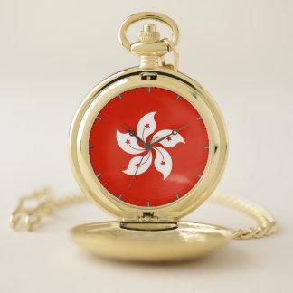 香港の愛国心が強い壊中時計の旗 ポケットウォッチ