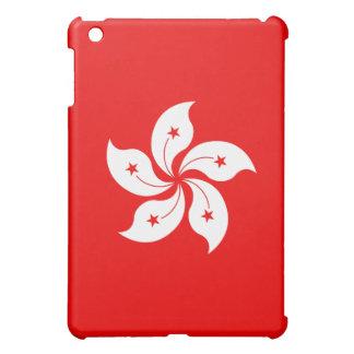 香港の旗の白い蘭の記号 iPad MINI CASE