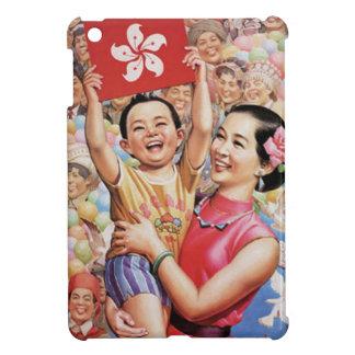 香港の旗ポスター iPad MINIケース