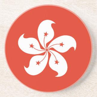 香港の旗 コースター