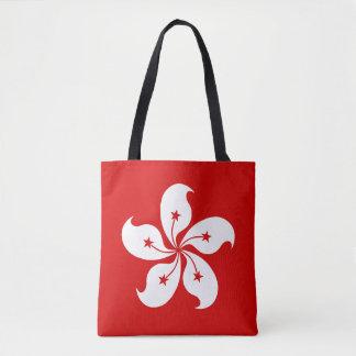 香港の旗 トートバッグ