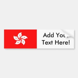 香港の旗 バンパーステッカー