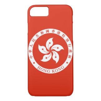 香港の紋章 iPhone 8/7ケース