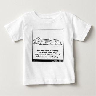 香港の老人がありました ベビーTシャツ