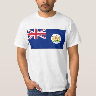 香港の英屬香港(1959年- 1997年)の旗 Tシャツ