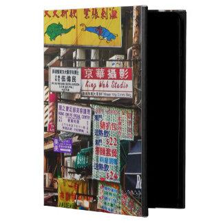 香港の通りをネオンサイン iPad AIRケース