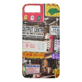 香港の通りをネオンサイン iPhone 8 PLUS/7 PLUSケース