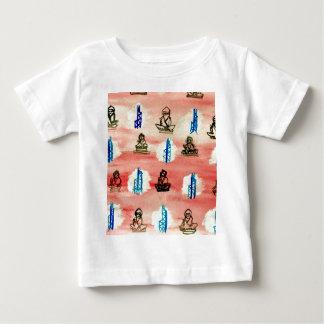 香港パターン ベビーTシャツ