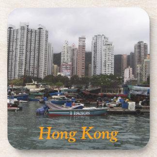 香港湾のコルクのコースター コースター