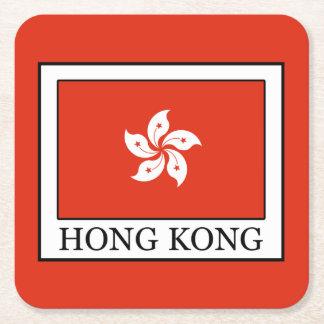 香港 スクエアペーパーコースター