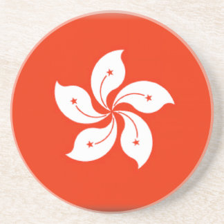 香港(中国)の旗 コースター