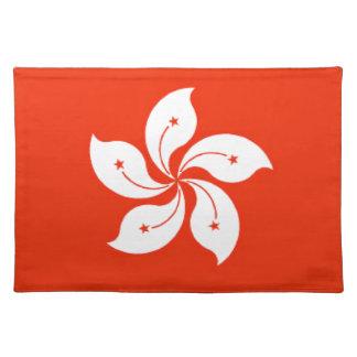 香港(中国)の旗 ランチョンマット