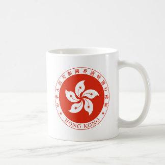 香港-香港特別行政區區徽の紋章 コーヒーマグカップ