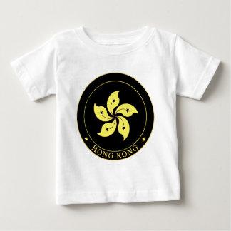 香港-香港特別行政區區徽の紋章 ベビーTシャツ