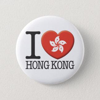 香港 5.7CM 丸型バッジ