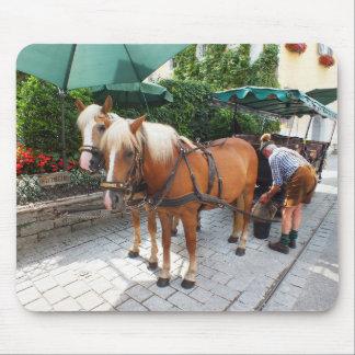 馬およびキャリッジ マウスパッド