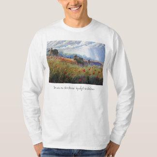 馬およびケシ、 Tシャツ