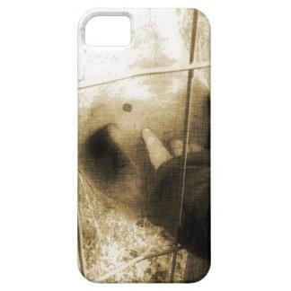 馬およびベビー iPhone SE/5/5s ケース