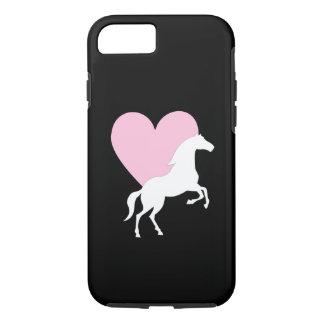 馬および愛 iPhone 8/7ケース