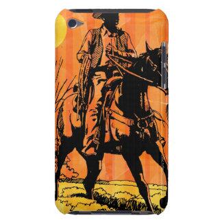 馬に乗ってカウボーイの乗馬砂漠で Case-Mate iPod TOUCH ケース