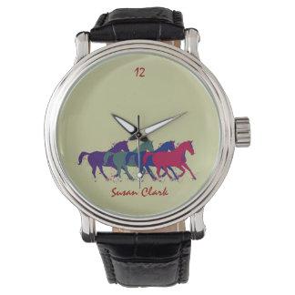 馬に乗る時間 腕時計