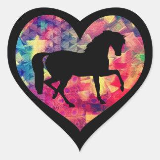 馬のための愛 ハートシール