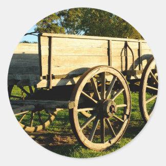 馬のカート ラウンドシール