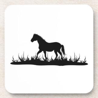 馬のコルクのコースター コースター
