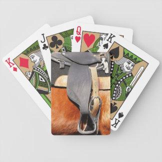 馬のサドルのトランプ バイスクルトランプ
