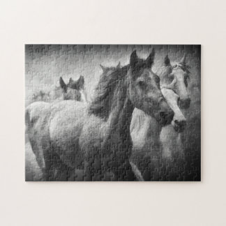 馬のスタンピードのパズル ジグソーパズル