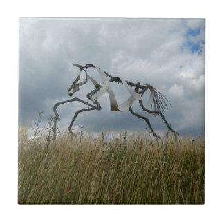 馬のセラミックタイル タイル